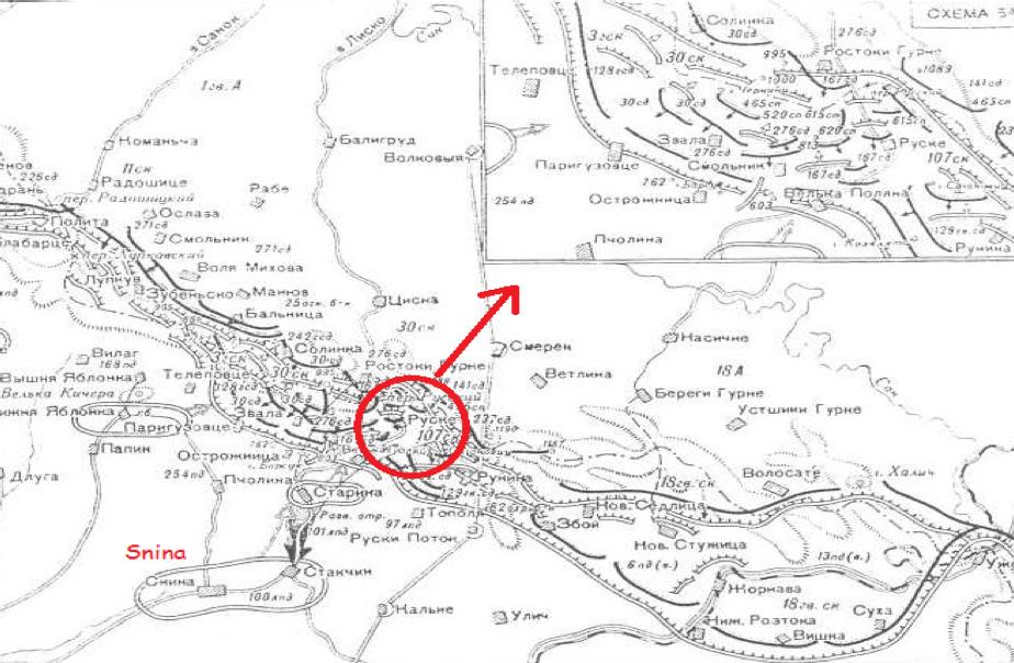 Východokarpatská operácia. Priebeh bojov v okolí Ruského sedla 30.9. – 19.10.1944