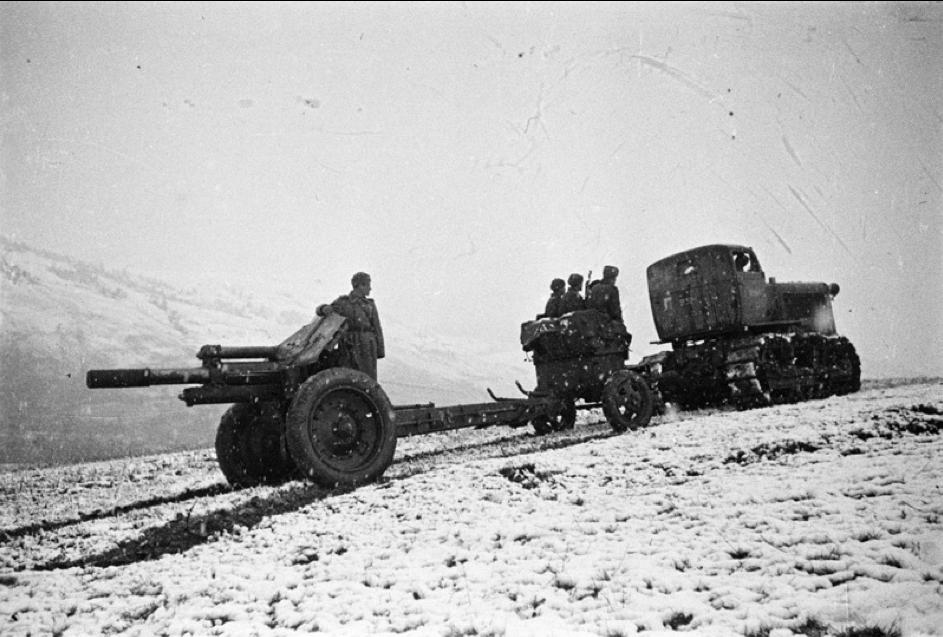 Presun vojenskej techniky, 1. gardová armáda, Karpaty 1944