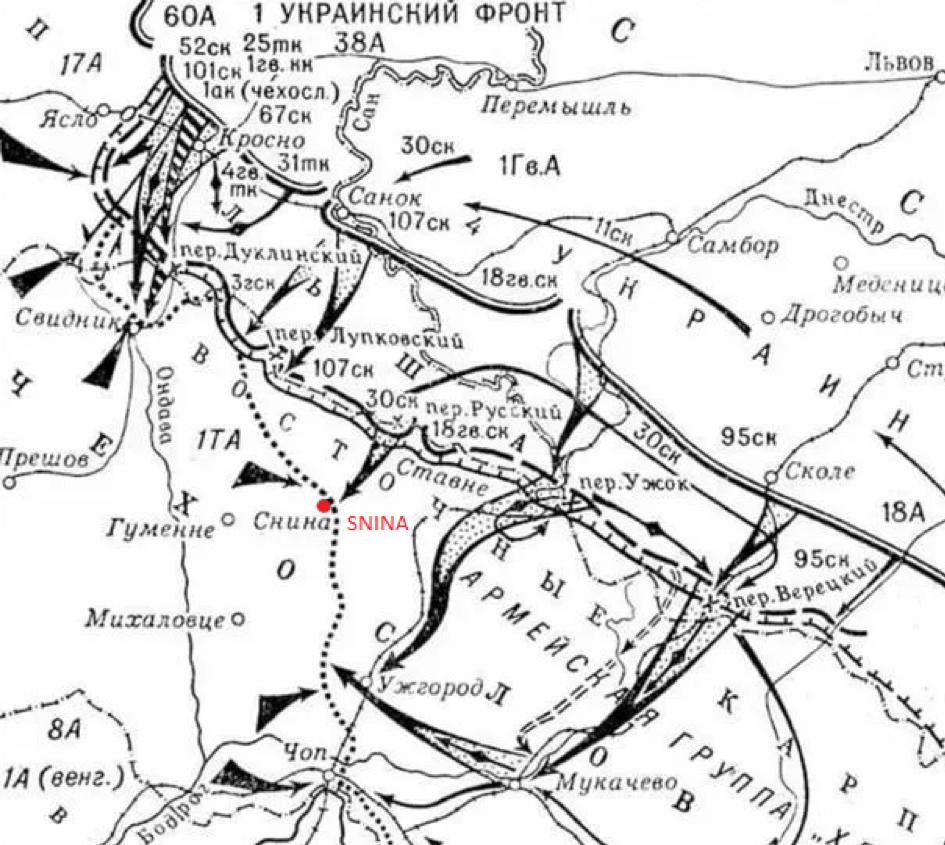 Postup sovietskej armády, jeseň 1944